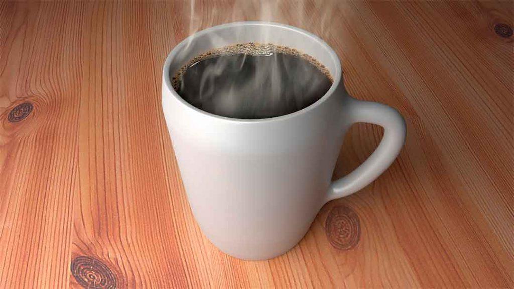 Una taza de chocolate caliente - ejemplos de energía térmica