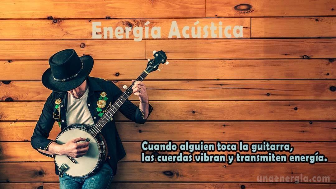 concepto de energia sonora