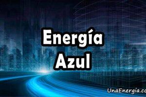 energia azul definicion